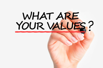 What are your values question
