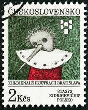 Stasys Eidrigevicius przez Pinokio (Czechosłowacja 1991)