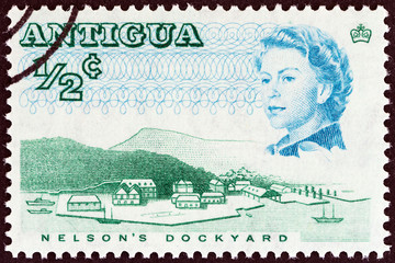 Nelson's Dockyard (Antigua 1966)