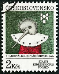 Pinocchio by Stasys Eidrigevicius (Czechoslovakia 1991)