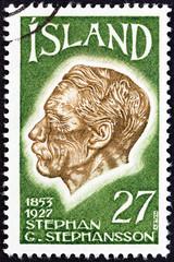 Poet Stephan G.Stephansson (Iceland 1975)