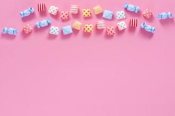 キャンディ カラフル キャラメル 背景素材