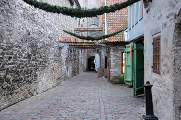 Medieval Lane in Old Town