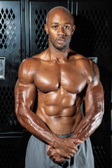 Muscle Fitness Athlete