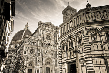 The famous cathedral in Florence - Tuscany - Italy