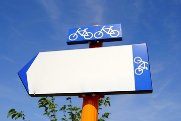 Señal para bici