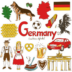 Collection of Germany icons