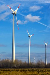 windmills to generate electricity