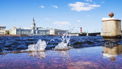 View of the Neva. St. Petersburg, Russia
