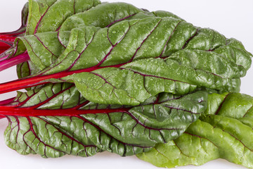 Red Swiss chard