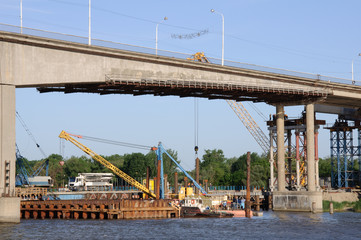 renovation of old bridge