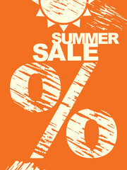 Summer sale. Hot sale.