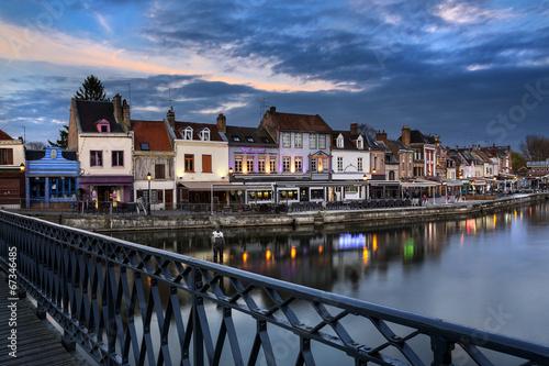 Papiers peints Ville sur l eau Quartier Saint-Leu Amiens