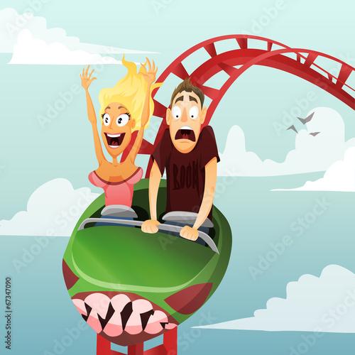 roller-coaster - 67347090