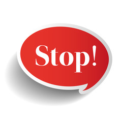Stop symbol label vector