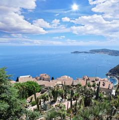 Villa in Eze village. Cote d'Azur.