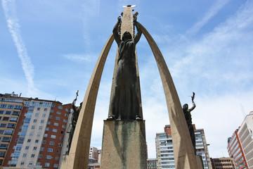 monumento representando a la libertad