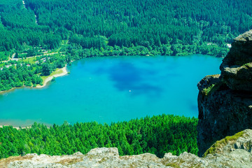 View of Rattlesnake Lake From Rattlesnake Ledge Lookout