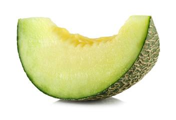 green cantaloupe melon slices