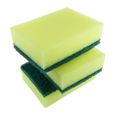 cleaners, detergents, household cleaning sponge for cleaning