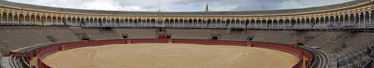 The bullring, La Real Maestranza of Seville