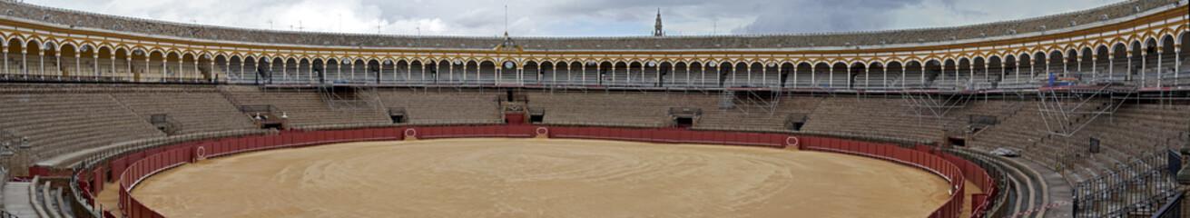 The bullring, La Real Maestranza of Seville