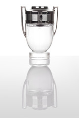 Perfume bottle shaped as a goblet