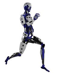 cyborg close running