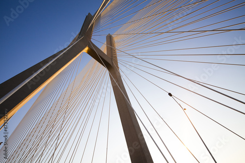 Fotobehang Brug Bridge