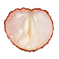 heart shaped lychee