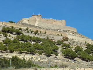 castillo de chinchilla de montearagon