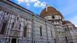 Facade of the Basilica di Santa Maria del Fiore (Basilica of Sai
