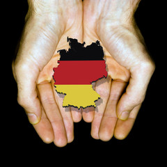Germany in hands