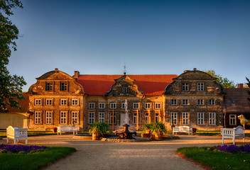 Schlosspark Blankenburg / Harz kleines Schloss