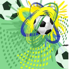 Футбольная абстракция