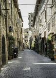 Fototapety Traditional Italian homes
