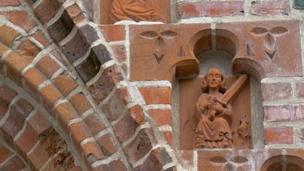 The carved arts from the church building GH4 4K