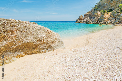canvas print picture turquoise shore