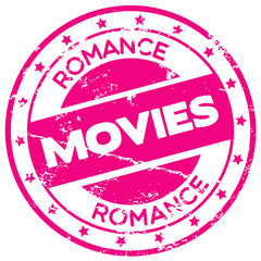 romance movies rubber stamp