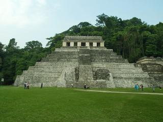 Tempio delle Iscrizioni, Sito archeologico Palenque, Messico
