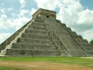 El Castillo, Tempio di Kukulkan, Chichen Itza, Messico