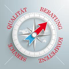 Compass Beratung Qualität Service Kompetenz