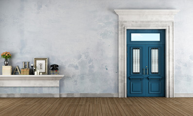 Home entrance in classic style