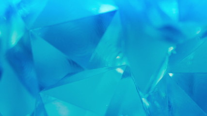 Crystal glass. Abstract background.