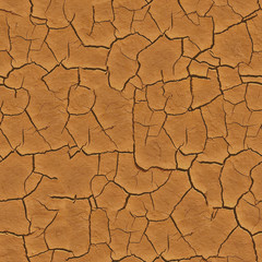 Seamless Cracked Earth Ground Texture