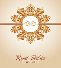 Royal invitation card