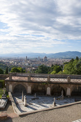 Skyline of Florence from San Miniato al Monte