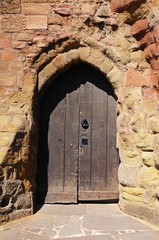 Norman castle doorway, Tamworth © Arena Photo UK