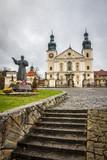 Courtyard of Sanctuary in Kalwaria Zebrzydowska - Poland.