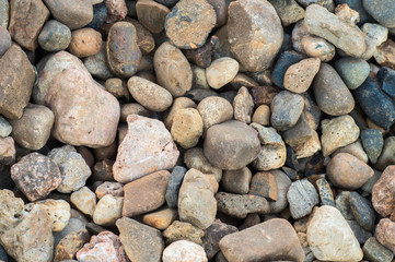 Gravel closeup.